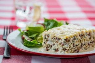 Creamy Chicken & Artichoke Lasagna Image 1