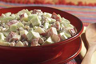 Creamy Apple-Walnut Salad Image 1