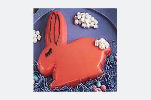 Creamy Berry Bunny Mold