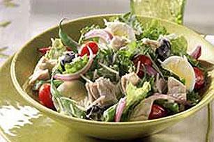 Caesar Salad Nicoise Recipe Image 1
