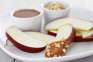 Dip cremoso de caramelo y mantequilla de maní Image 1