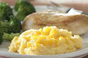 Cremosa polenta con queso cheddar Image 1