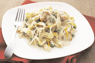 Creamy Chicken and Peas Noodle Toss Image 1