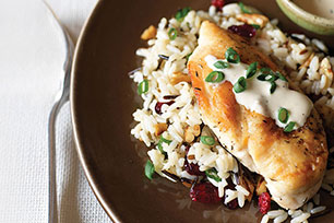 Creamy Chicken & Cranberry-Pecan Wild Rice Image 1