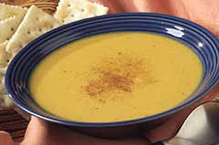 Creamy Curried Pumpkin Soup Image 1
