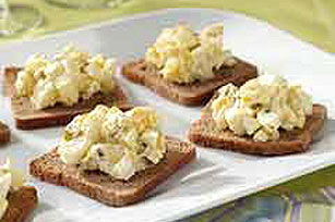 Creamy Egg Salad Appetizers
