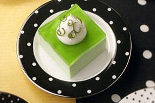 Cremosos cuadritos de gelatina en capas Image 1