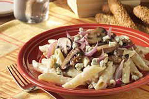 Creamy Gorgonzola Penne and Mushrooms