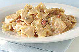 Creamy Mexican Chicken Pasta