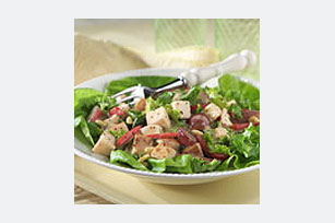 Creamy Poppyseed and Pine Nut Chicken Salad