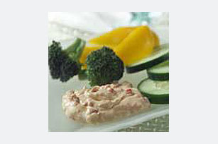 Creamy Red Pepper Dip Image 1
