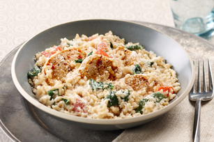 Creamy Rice, Chicken & Spinach Dinner Image 1