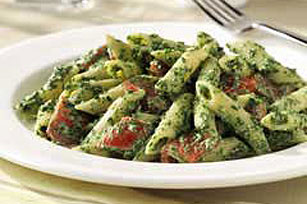 Creamy Spinach Penne Image 1