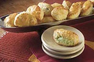 Creamy Stuffed Pastry Bites