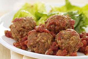 Creamy Tomato Meatballs