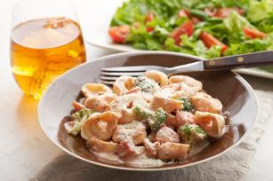 Cremosos tortellini con tomate Image 1