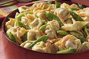 Creamy Tortellini Spring Salad