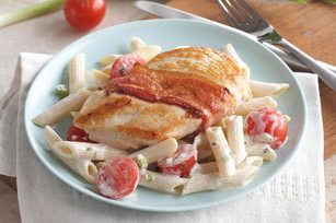 Creamy Chicken with Bacon & Penne