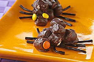 Creepy Crawly Marshmallow Spiders