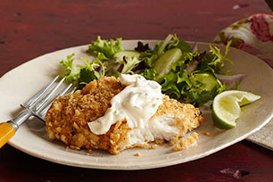 Crispy Baked Fish Fillets Image 1