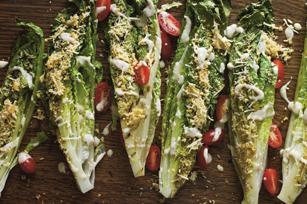 Crispy Grilled Caesar Salad Image 1