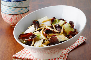 Crispy Napa Cabbage & Mushrooms