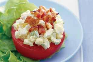 Crispy Bacon 'n Egg Salad Image 1