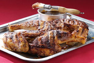 Crispy Brick-Grilled Barbecued Chicken Image 1