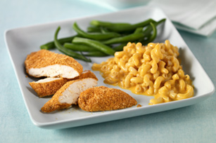 Crispy Chicken with Macaroni & Cheese Dinner Image 1
