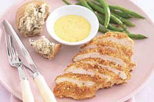 """Pollo crujiente con """"dip"""" picante de mango Image 1"""
