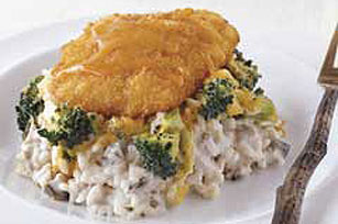 Crispy Fish Bake
