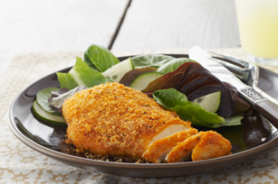 Crispy Parmesan Chicken Breasts
