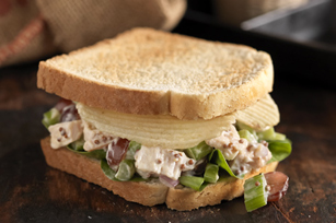 Crunchy Potato Chip-Chicken Salad Sandwich Image 1