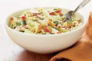 Creamy Apple Slaw with Walnuts Image 1