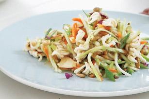 Crujiente ensalada de brócoli estilo oriental