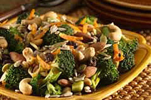 Crunchy Broccoli Toss