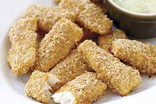 Crunchy Fish Sticks Image 1