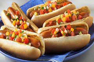 Crunchy Garden-Style Dogs Image 1