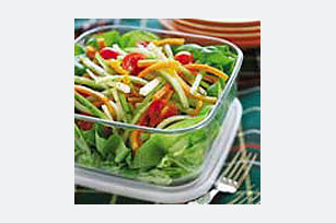 Crunchy Summer Salad with Jalapeno Ranch Dressing Image 1