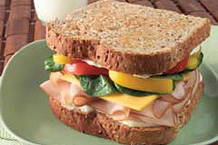 Crunchy Turkey Sandwich Image 1