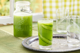 Cucumber-Honeydew Cooler