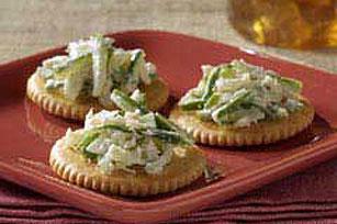 Cucumber-Horseradish Bites Image 1