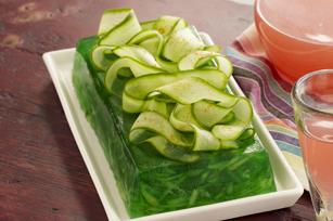 Cucumber-Lime Gelatin