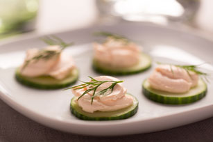 Cucumber Bites with Salmon Cream Cheese Image 1