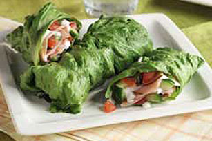 Cucumber Ranch Lettuce Wrap