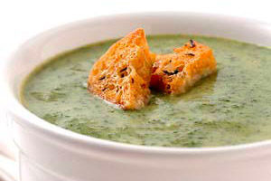 Curried Spinach Soup Image 1
