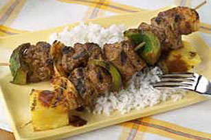 Curried Beef Kabobs Image 1