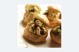 Curried Dijon Chicken Puffs Image 1