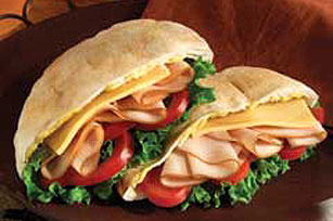 Curry Turkey Pita Image 1