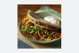 DOUBLE DECKER Veggie Tacos